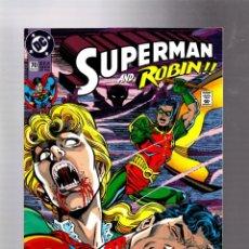 Cómics: SUPERMAN 70 - DC 1992 VFN/NM / JURGENS & BREEDING / ROBIN / VS VAMPIRES. Lote 293458068