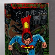 Cómics: SUPERMAN 82 - DC 1993 VFN/NM / REIGN OF THE SUPERMEN / CHROMIUM COVER COLLECTOR'S EDITION. Lote 293458408