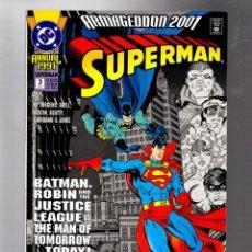 Cómics: SUPERMAN ANNUAL 3 - DC 1991 VFN / JURGENS & ABELL / ARMAGEDDON / BATMAN. Lote 293458778