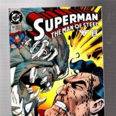 Cómics: SUPERMAN THE MAN OF STEEL 19 - DC 1992 VFN+ / LOUISE SIMONSON & JON BOGDANOVE / DOOMSDAY. Lote 293459433