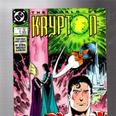 Cómics: SUPERMAN THE WORLD OF KRYPTON 4 - DC 1987 VFN+ / JOHN BYRNE & MIKE MIGNOLA. Lote 293459988