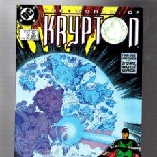 Cómics: SUPERMAN THE WORLD OF KRYPTON 3 - DC 1987 VFN+ / JOHN BYRNE & MIKE MIGNOLA. Lote 293460423