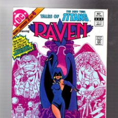Cómics: TALES OF THE NEW TEEN TITANS 2 - DC 1982 VFN / 1ST RAVEN SOLO ADVENTURE / WOLFMAN & PEREZ. Lote 293461658
