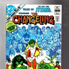 Cómics: TALES OF THE NEW TEEN TITANS 3 - DC 1982 VG / 1ST CHANGELING SOLO ADVENTURE / WOLFMAN & PEREZ. Lote 293461928