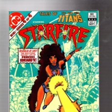 Cómics: TALES OF THE NEW TEEN TITANS 4 - DC 1982 VFN / 1ST STARFIRE SOLO ADVENTURE / WOLFMAN & PEREZ. Lote 293462188