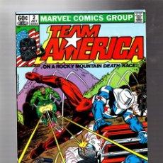 Cómics: TEAM AMERICA 2 - MARVEL 1982 VFN+ / 1ST MARAUDER. Lote 293462583