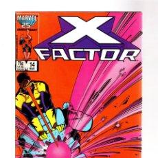 Cómics: X-FACTOR 14 - MARVEL 1987 FN/VFN / WALTER SIMONSON. Lote 293563338