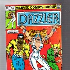 Cómics: DAZZLER 24 - MARVEL 1983 VFN/NM / VS ROGUE / POWER-MAN & IRON FIST. Lote 293624148