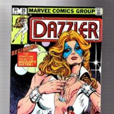 Cómics: DAZZLER 26 - MARVEL 1983 VFN/NM / PORTADA DE JOE JUSKO. Lote 293625033