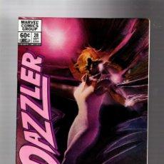 Cómics: DAZZLER 28 - MARVEL 1983 FN/VFN / PORTADA DE BILL SIENKIEWICZ / VS ROGUE. Lote 293625518