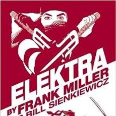 Cómics: ELEKTRA BY FRANK MILLER & BILL SIENKIEWICZ HC - OMNIBUS MARVEL 2016 EN INGLÉS. Lote 294484728