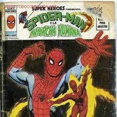 Cómics: VERTICE V2 SUPER HEROES Nº 9 SPIDER-MAN, ANTORCHA HUMANA, DAN DEFENSOR. Lote 13142715