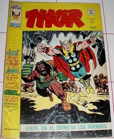 COMIC THOR DE LA EDITORIAL VERTICE (Tebeos y Comics - Vértice - Thor)