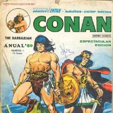 Cómics: CONAN THE BARBARIAN Nº 1. Lote 16219148