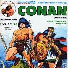 Cómics: CONAN, THE BARBARIAN Nº 1 ANUAL´80. Lote 27403725