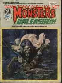 ESCALOFRIO, Nº9: MONSTERS UNLEASHED! (Tebeos y Comics - Vértice - Terror)