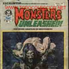 Cómics: ESCALOFRIO, Nº9: MONSTERS UNLEASHED!. Lote 12535015