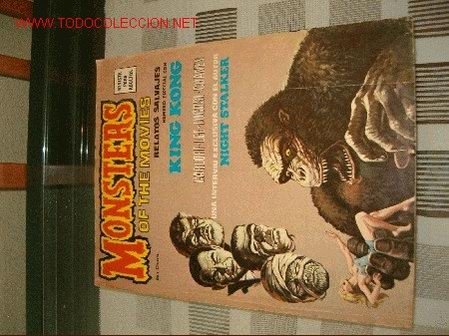 RELATOS SALVAJES. MONSTERS OF THE MOVIES. (Tebeos y Comics - Vértice - Relatos Salvajes)