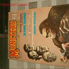 Cómics: RELATOS SALVAJES. MONSTERS OF THE MOVIES.. Lote 614517