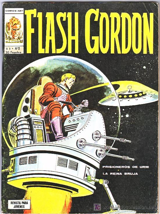 FLASH GORDON--V1..N--5 (Tebeos y Comics - Vértice - Flash Gordon)