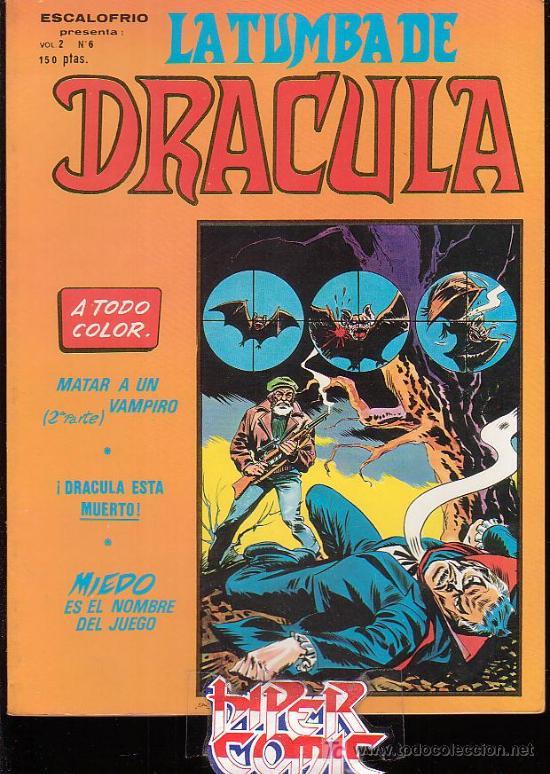 LA TUMBA DE DRACULA - Nº 6 (Tebeos y Comics - Vértice - Terror)