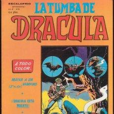 Cómics: LA TUMBA DE DRACULA - Nº 6. Lote 4075556