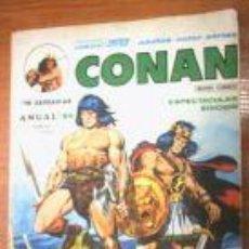 Cómics: CONAN. ANUAL 80, Nº 1.COMICS VERTICE. Lote 4466606