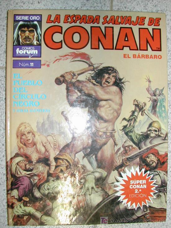 SUPER CONAN TAPA DURA. . 190 PAGINAS. SI TE FALTAN OTROS NUMEROS DIMELO Y LOS PONDRE (Tebeos y Comics - Vértice - Conan)