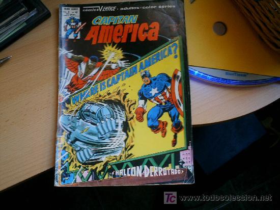 CAPITAN AMERICA V- 3 Nº 40 MUNDICOMICS. (Tebeos y Comics - Vértice - Capitán América)