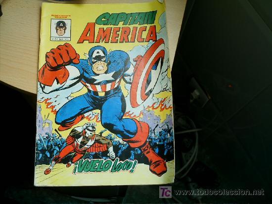 CAPITAN AMERICA Nº 2- MUNDICOMICS (Tebeos y Comics - Vértice - Capitán América)