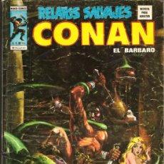 Cómics: RELATOS SALVAJES V-1 Nº 40 CONAN DE ROBERT E. HOWARD, SOLOMON KANE,, LOS VENGADORES. Lote 19781809