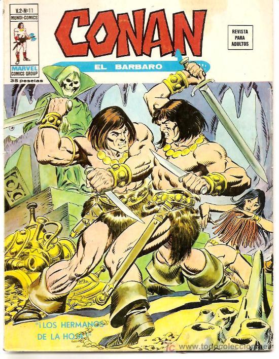 CONAN V-2 Nº 11 DIFICIL (Tebeos y Comics - Vértice - Conan)