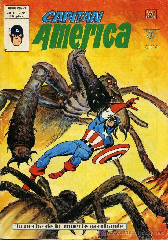 CAPITAN AMERICA VOL. 3 Nº 33 (Tebeos y Comics - Vértice - Capitán América)