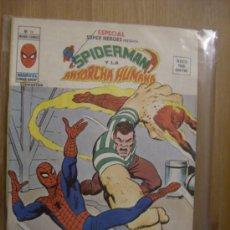 Cómics: ESPECIAL SUPERHÉROES Nº 14: SPIDERMAN Y LA ANTORCHA HUMANA. VÉRTICE, 1974.. Lote 5231842