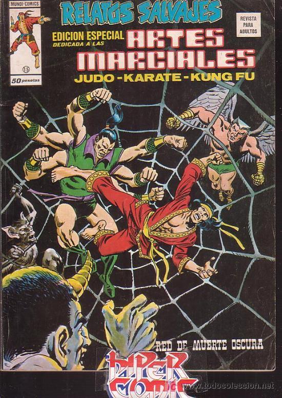 RELATOS SALVAJES - ARTES MARCIALES - VOL 1 - Nº 15 ( VERTICE ) (Tebeos y Comics - Vértice - Relatos Salvajes)