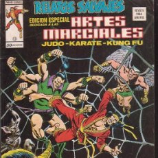 Cómics: RELATOS SALVAJES - ARTES MARCIALES - VOL 1 - Nº 15 ( VERTICE ). Lote 5246702