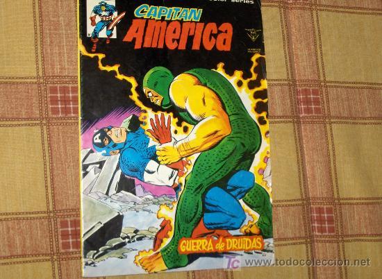 Cómics: VÉRTICE VOL. 3 CAPITÁN AMÉRICA Nº 15 LA VENGANZA DE CRÁNEO ROJO. 1977. 35 PTS. Nº 45. A TODO COLOR. - Foto 2 - 5647313
