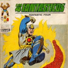 Cómics: COMIC EDITORIAL VERTICE VOL 1 LOS 4 FANTASTICOS Nº 60. Lote 5874600
