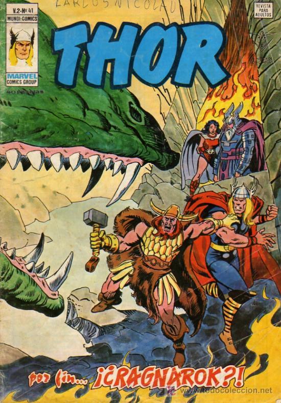 THOR V2 Nº41 (Tebeos y Comics - Vértice - Thor)