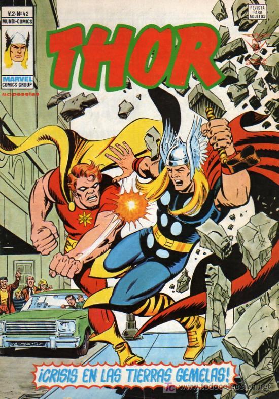 THOR V2 Nº42 (Tebeos y Comics - Vértice - Thor)