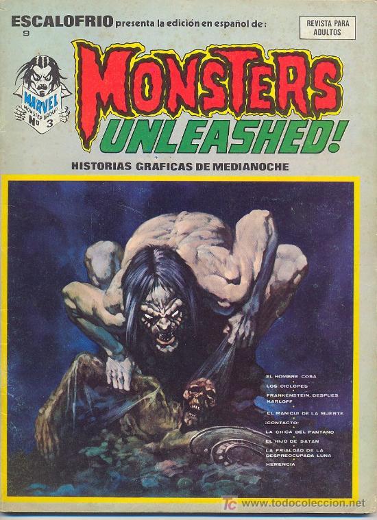 MONSTERS UNLEASHED Nº 3 (Tebeos y Comics - Vértice - Otros)
