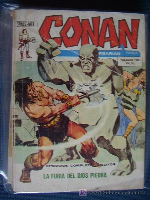 CONAN. Nº 18. VOL 1. VÉRTICE (Tebeos y Comics - Vértice - Conan)