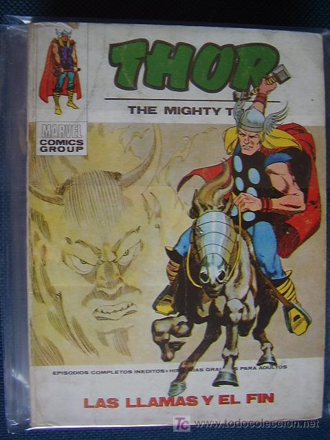 THOR. Nº 34. VOL 1. VÉRTICE (Tebeos y Comics - Vértice - Thor)