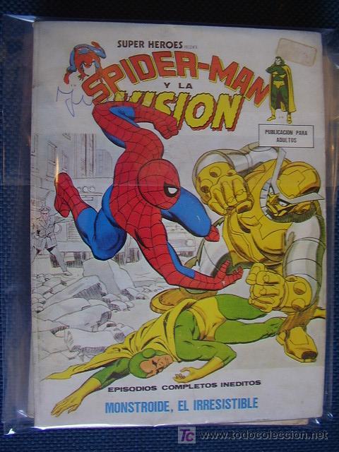SUPER HEROES. Nº 10. VOL 1. VÉRTICE (Tebeos y Comics - Vértice - Super Héroes)