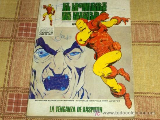 VÉRTICE VOL. I EL HOMBRE DE HIERRO Nº 29. 25 PTS. 1972. (Tebeos y Comics - Vértice - Hombre de Hierro)