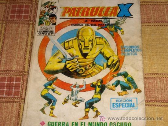VÉRTICE VOL. 1 LA PATRULLA X Nº 15. 25 PTS. 1970. (Tebeos y Comics - Vértice - Patrulla X)