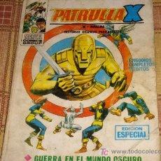 Cómics: VÉRTICE VOL. 1 LA PATRULLA X Nº 15. 25 PTS. 1970. REGALO VÉRTICE VOL. 1 PATRULLA X Nº 13.. Lote 11459413
