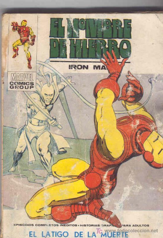 EL HOMBRE DE HIERRO . VOLUMEN 1. Nº 32 (Tebeos y Comics - Vértice - Hombre de Hierro)