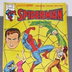 Cómics: SPIDERMAN V3 Nº 63. EL VUELO OSCURO DE LA MUERTE. GERRY CONWAY Y ROSS ANDRU. VÉRTICE 1980. COLOR.. Lote 24863495