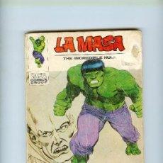 Comics : VÉRTICE VOL. I LA MASA Nº 31. 30 PTS. 1973.. Lote 11773786